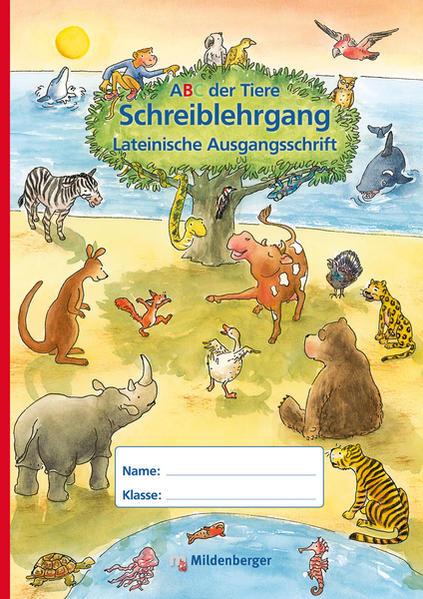 ABC der Tiere – Schreiblehrgang LA in Sammelmappe, Erstausgabe - Coverbild
