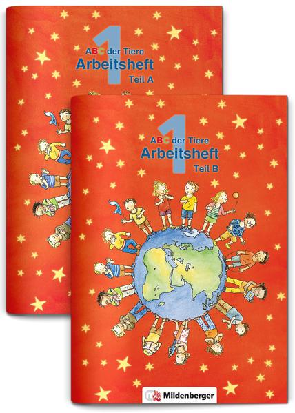 ABC der Tiere 1 – Arbeitshefte Teil A und B  · Erstausgabe - Coverbild