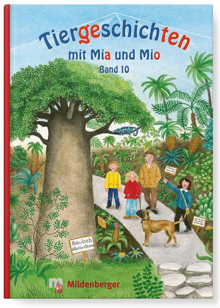 Tiergeschichten mit Mia und Mio - Band 10 - Coverbild