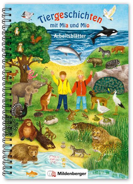 Tiergeschichten mit Mia und Mio – Arbeitsblätter - Coverbild