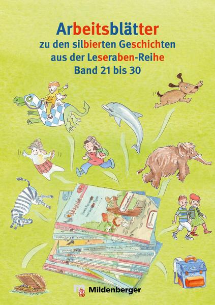 Leserabe: Kopiervorlagen zu Band 21 bis 30 - Coverbild