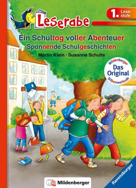 Leserabe –  Ein Schultag voller Abenteuer - Coverbild