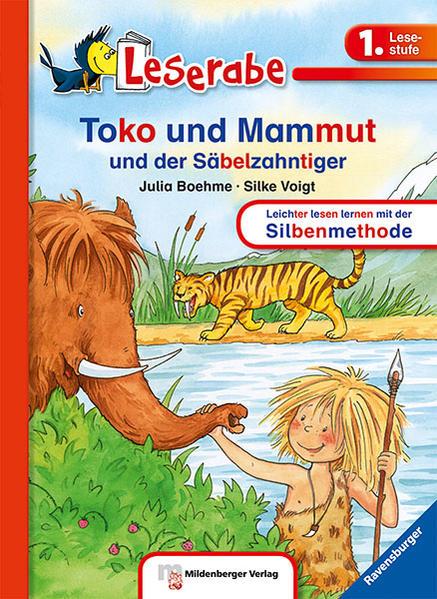 Leserabe –  Toko und Mammut und der Säbelzahntiger - Coverbild