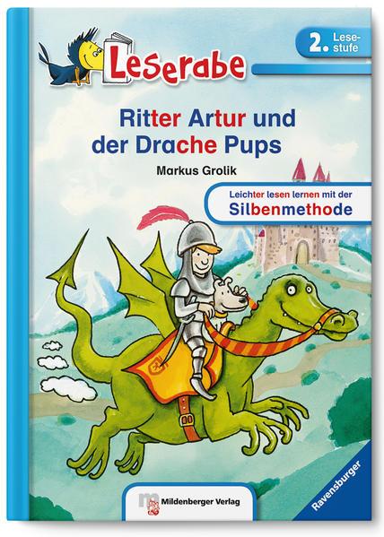 Leserabe –  Ritter Artur und der Drache Pups - Coverbild