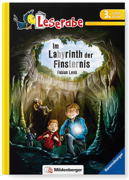 Leserabe –  Im Labyrinth der Finsternis - Coverbild