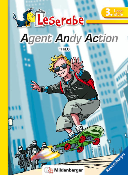 Leserabe –  Agent Andy Action - Coverbild