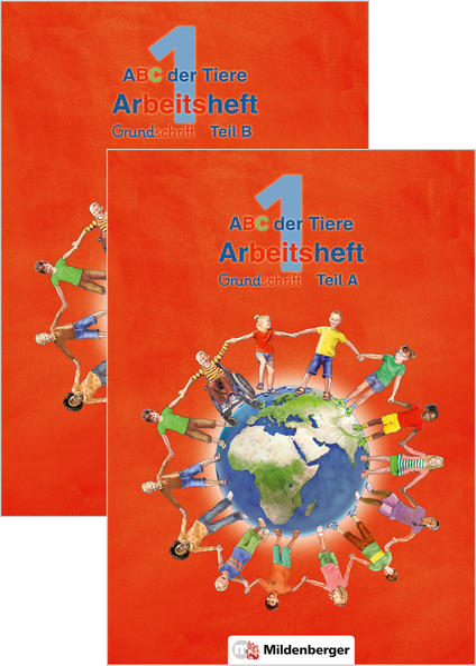 ABC der Tiere 1 – Arbeitsheft Grundschrift, Teil A und B · Neubearbeitung - Coverbild