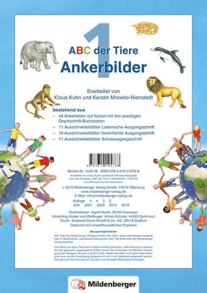 ABC der Tiere 1 – Ankerbilder · Neubearbeitung - Coverbild