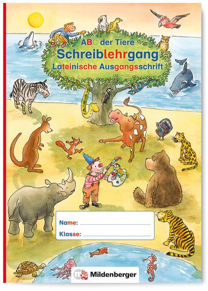 ABC der Tiere – Schreiblehrgang LA in Sammelmappe · Neubearbeitung - Coverbild