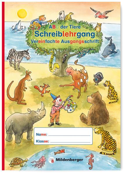 ABC der Tiere – Schreiblehrgang VA in Sammelmappe · Neubearbeitung - Coverbild
