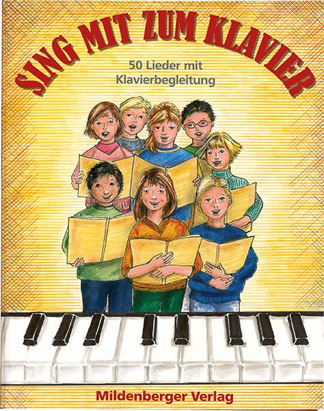 Sing mit zum Klavier - Coverbild