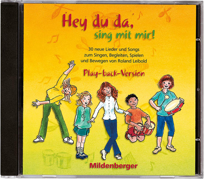 Hey du da - sing mit mir! / Hey,du da, sing mit mir! CD Play-back-Version - Coverbild