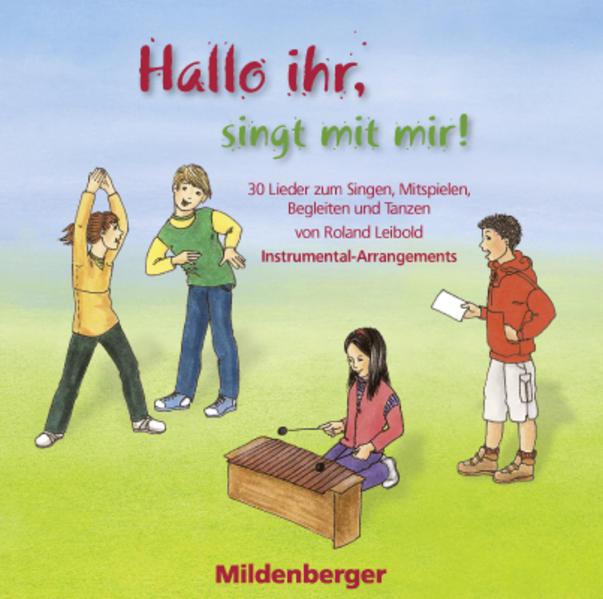 Hallo ihr, singt mit mir! – CD mit Play-back-Versionen - Coverbild