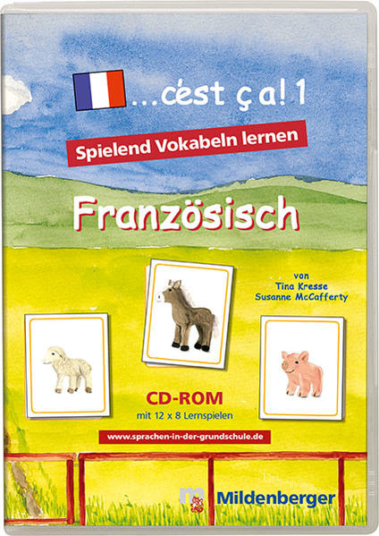 ... c'est ca!. Lernpsiele für den Französischunterricht / ... c'est ca!. Lernpsiele für den Französischunterricht - Coverbild