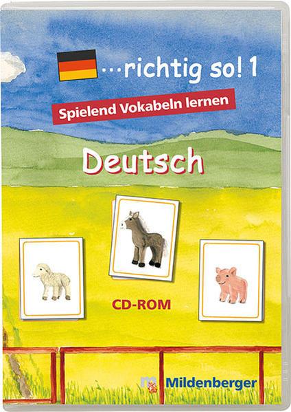 ... richtig so!. Lernspiele für den Deutsch-Förderunterricht / ... richtig so!. Lernspiele für den Deutsch-Förderunterricht - Coverbild