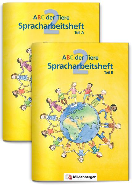 ABC der Tiere 2 – Spracharbeitsheft, Teil A und B, 2. Klasse· Erstausgabe - Coverbild