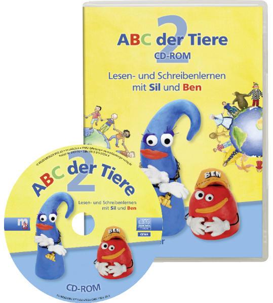 ABC der Tiere 2 – CD-ROM zum Leselehrgang - Coverbild