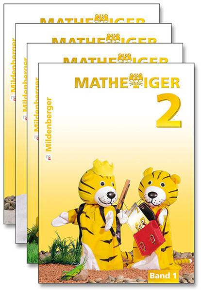 Mathetiger 2, Jahreszeiten-Bände, Klasse 2 · Erstausgabe - Coverbild