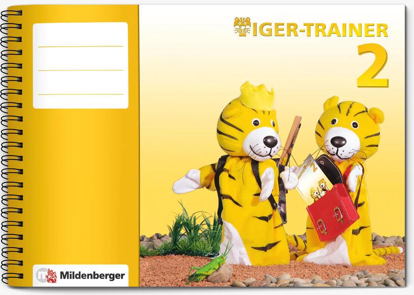 Tiger-Trainer 2 - Arbeitsheft - Coverbild