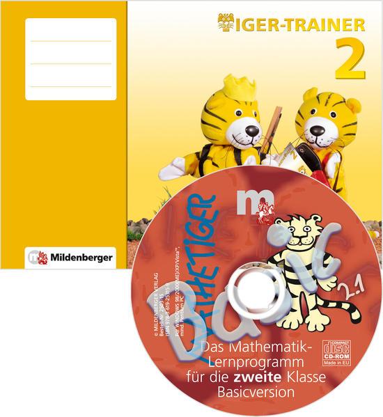 Tiger-Trainer 2 – Arbeitsheft mit CD-ROM Mathetiger Basic 2, Version 2.1 - Coverbild