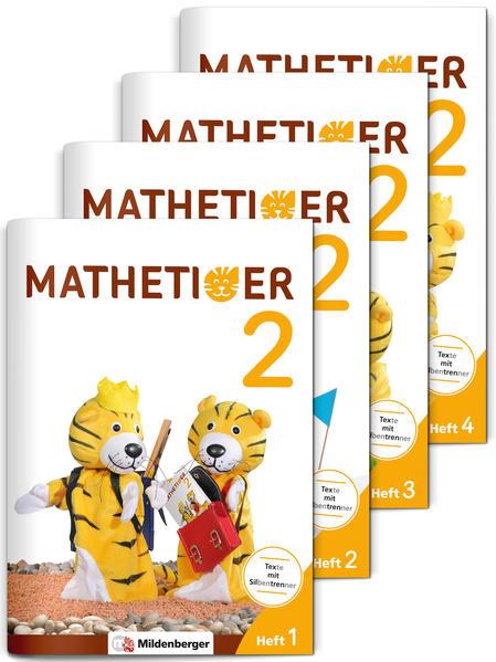 Mathetiger 2 – Jahreszeiten-Hefte • Neubearbeitung - Coverbild