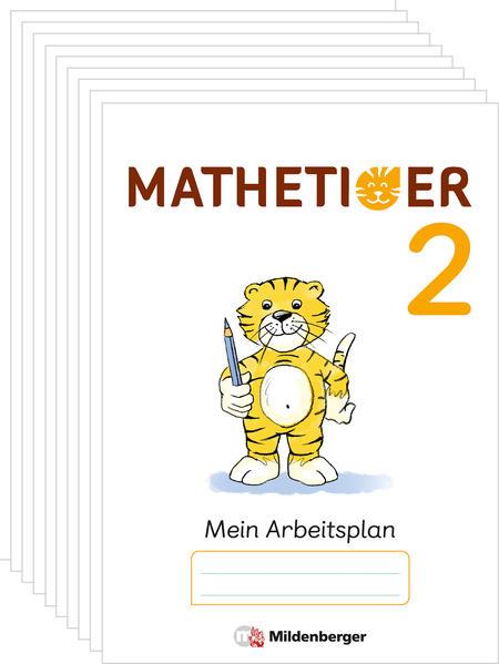 Mathetiger 2 – Arbeitsplan zur Heftausgabe (VPE 10) - Coverbild