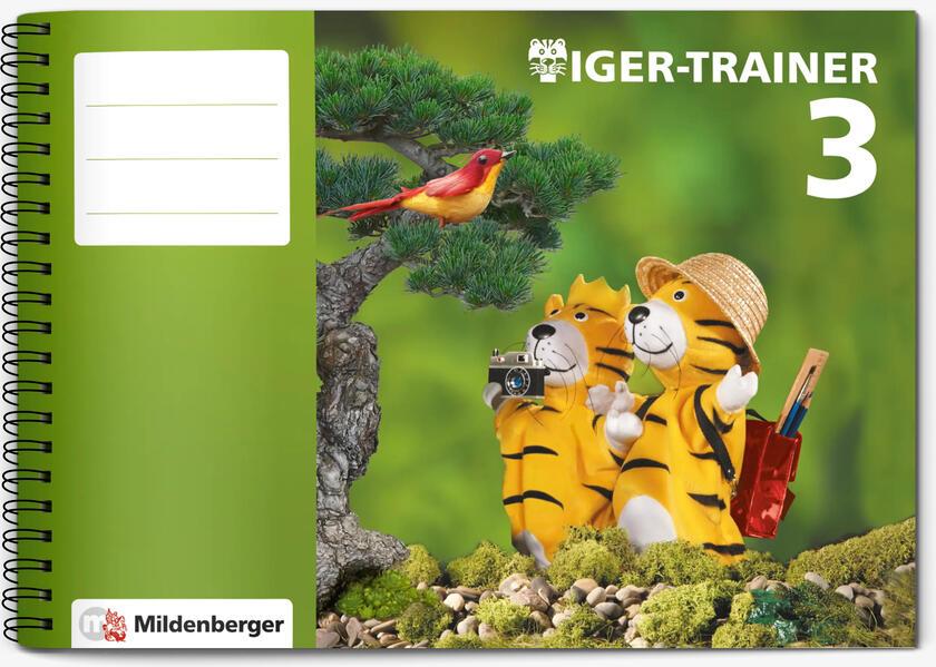Tiger-Trainer 3, Arbeitsheft - Coverbild