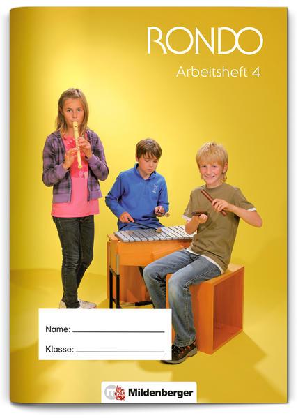 RONDO 3/4 – Arbeitsheft 4 · Ausgabe Bayern - Coverbild