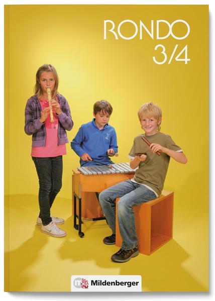 RONDO 3/4 - Schülerbuch - Neuausgabe - Coverbild