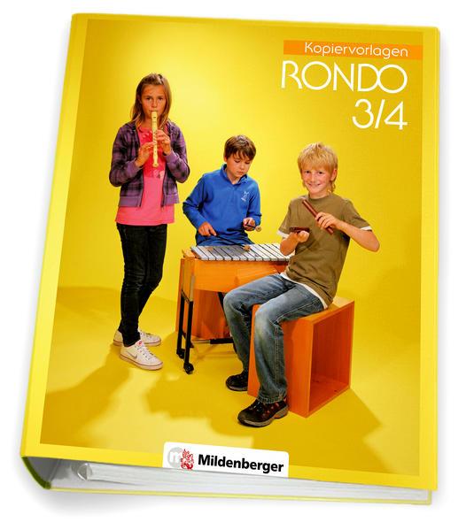 RONDO 3/4 – Kopiervorlagen, Neuausgabe - Coverbild
