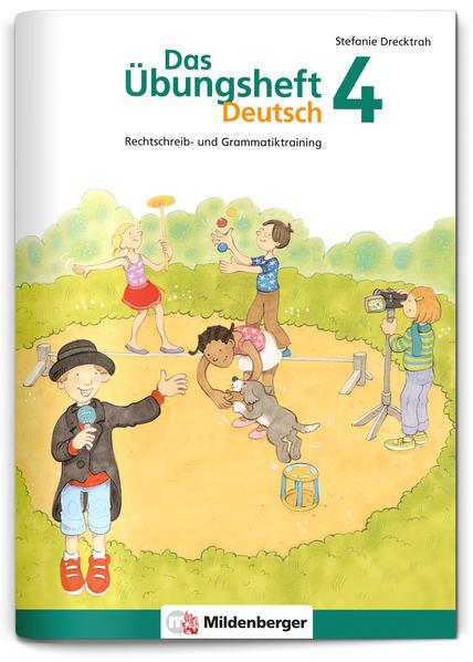 Das Übungsheft Deutsch / Das Übungsheft Deutsch 4 - Coverbild