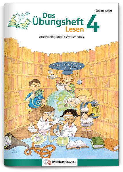 Das Übungsheft Lesen 4 - Coverbild