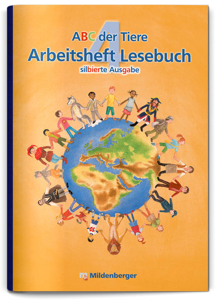ABC der Tiere 4 – Arbeitsheft Lesebuch - Coverbild