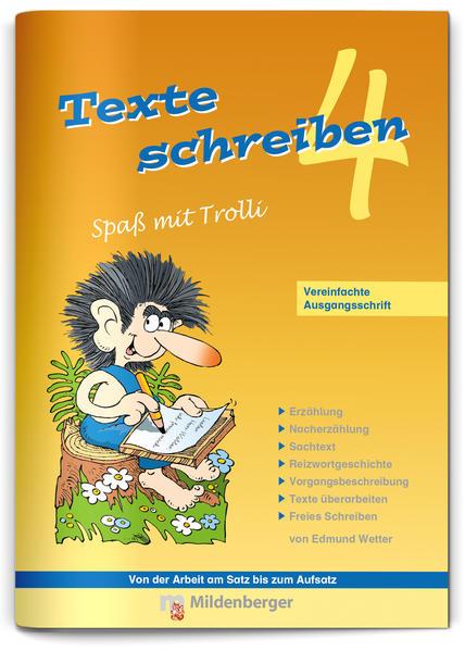 Texte schreiben – Spaß mit Trolli 4 - Coverbild