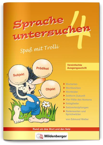 Sprache untersuchen – Spaß mit Trolli 4 - Coverbild
