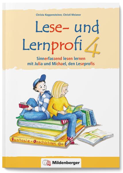 Lese- und Lernprofi 4 – Schülerarbeitsheft – silbierte Ausgabe - Coverbild
