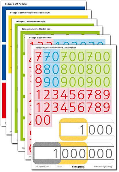 Das Mathebuch 4 – Arbeitsbeilagen – Neuausgabe - Coverbild