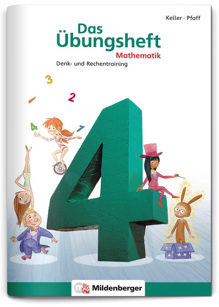 Das Übungsheft Mathematik 4 - Coverbild