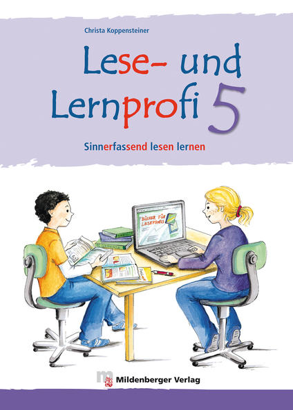 Lese- und Lernprofi 5 – Schülerarbeitsheft – silbierte Ausgabe - Coverbild