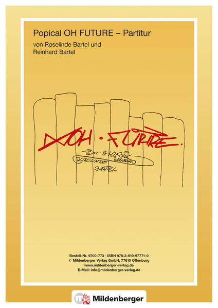 RONDO 9/10, Partitur zu Oh Future - Coverbild