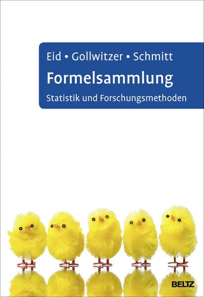 Formelsammlung Statistik und Forschungsmethoden - Coverbild