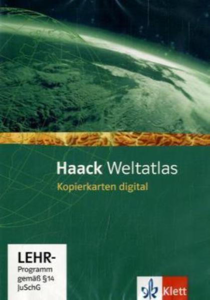 Haack Weltatlas für die Sekundarstufe I / Kopierkarten digital - Coverbild