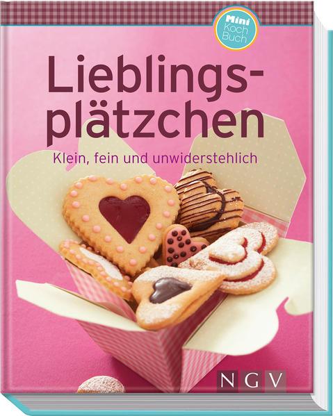 Lieblingsplätzchen (Minikochbuch) - Coverbild