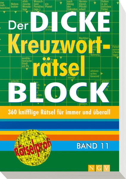 Der dicke Kreuzworträtsel-Block Band 11