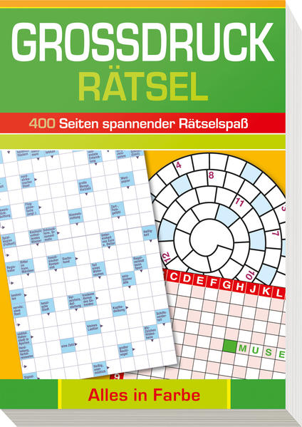 Großdruck-Rätsel - Coverbild