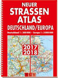 Neuer Straßenatlas Deutschland/Europa 2017/2018 Cover