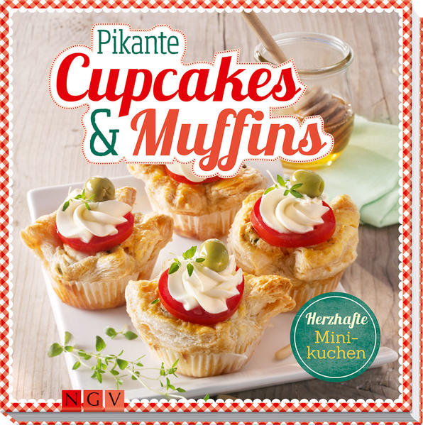 Pikante Cupcakes & Muffins - Coverbild