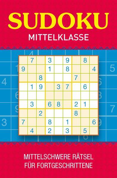 Sudoku Mittelklasse - Coverbild
