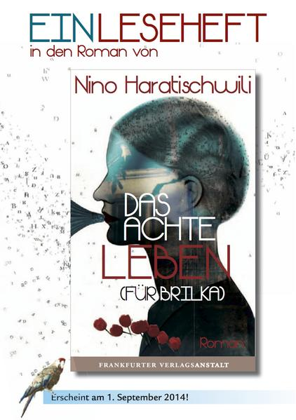 Das achte Leben (Für Brilka) - EINLESEHEFT - Coverbild