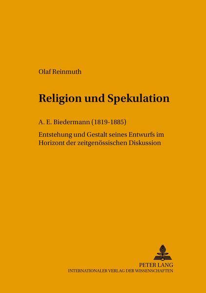 Religion und Spekulation - Coverbild